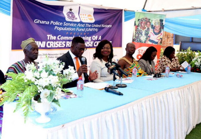 DOVVSU opens centre for survivors of violence