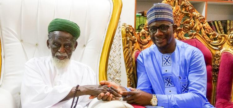 Courtesy call to the National Chief Imam, Sheikh Osman Nuhu Sharubutu