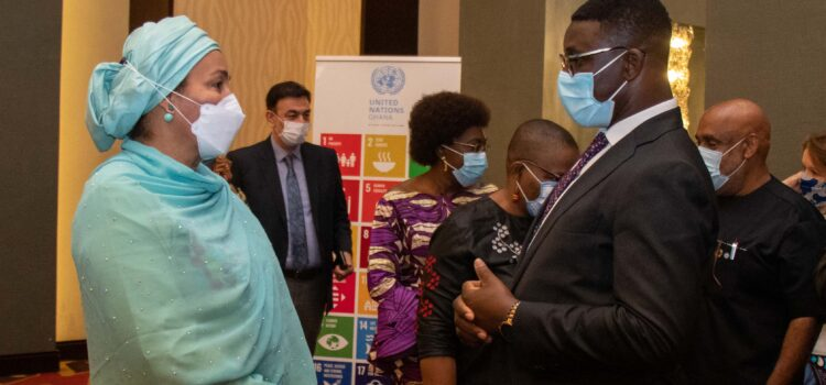 Meeting with the UN Deputy Secretary-General