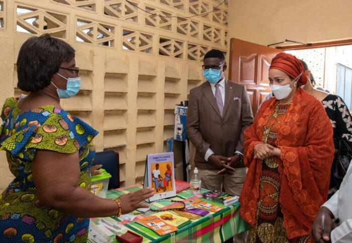 Deputy Secretary-General's visit to Adabraka Polyclinic