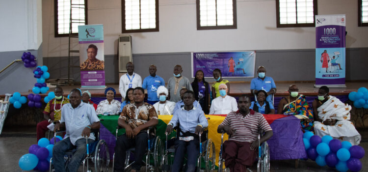 International Community urged to support Ghana's 1000 Wheelchair Campaign