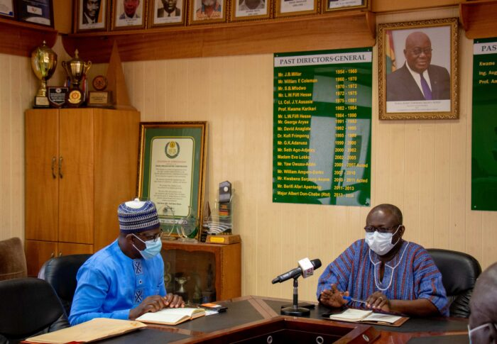 Courtesy Call to the Office of GBC Director-General