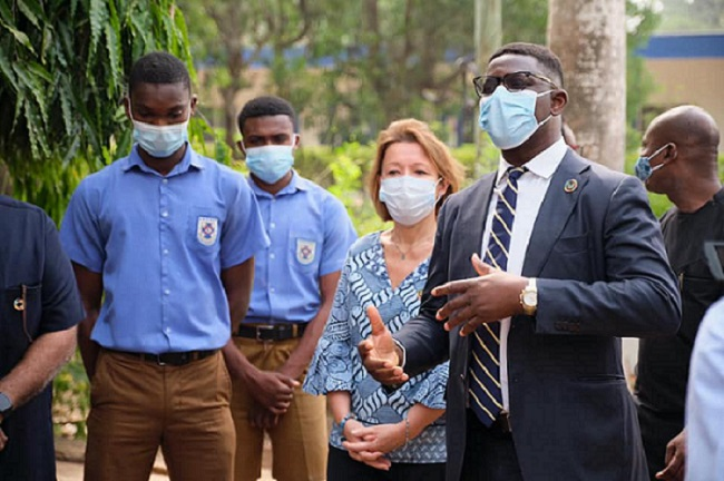 Marking World Education Day in Ghana